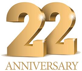 22周年ロゴマーク