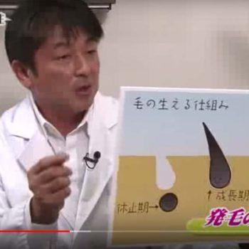 『実体験!美容外科クリニックでの脱毛』というテーマで美容情報テレビ番組に出演しました。
